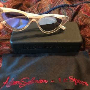 "Le Specs x Adam Selman Accessories - LE SPECS ""THE LAST LOLITA"" CAT EYE SUNGLASSES"